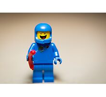 Benny from the Lego Movie Photographic Print