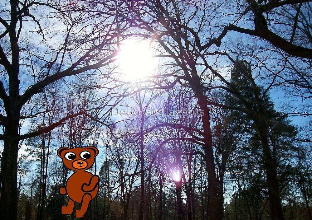 Yes, A Bear Does Go In The Woods by Deborah Lazarus