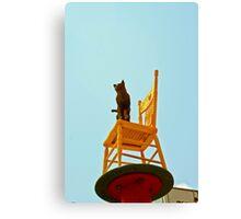 Chair Art China Town Canvas Print
