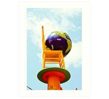 Chair Art China Town 2 Art Print