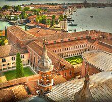 Venice. View from Church San Giorgio Maggiore by terezadelpilar~ art & architecture