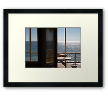 Vacation Reflection Framed Print