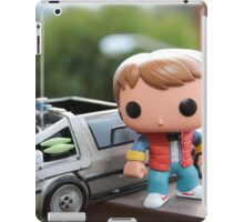 Marty Mcfly Delorean iPad Case/Skin