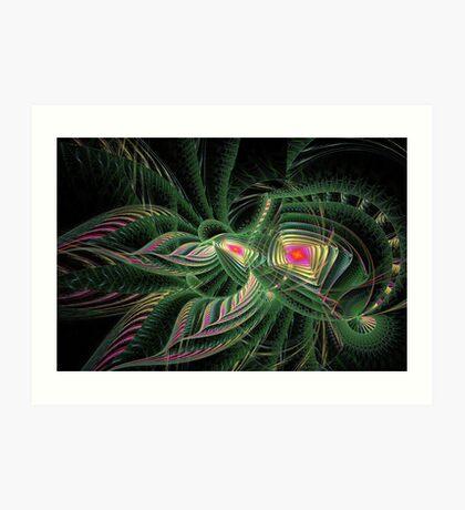 Disc-Julian - #1 - Flowers & Foliage Art Print