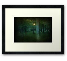 A Light To Guide Me Framed Print
