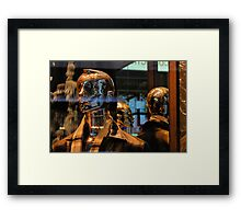 Phony guy Framed Print