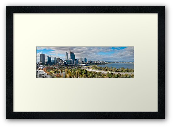 Perth - Panorama by DPalmer