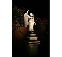 Angel at Night Photographic Print