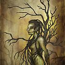 Dark Dryad by AlexKujawa