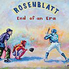 Rosenblatt: End of an Era by Jan Eker