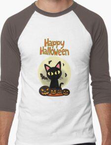 Happy Halloween 2 Men's Baseball ¾ T-Shirt