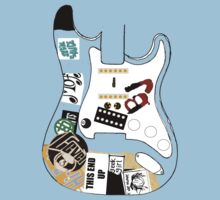 "Billie Joe Armstrong ""Blue"" Guitar - Any Colour  by JordanDefty"