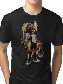Frank The Electric Skull Tri-blend T-Shirt