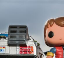 Outatime with Marty McFly Sticker