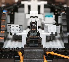 Mid Tumbler Build with Batman by garykaz