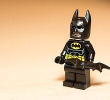 Batman with Batarang by garykaz