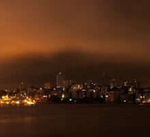 Sydney at night by ttrcek