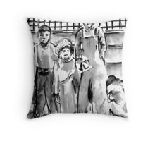 The Orphans Throw Pillow