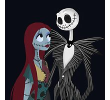 Spooky Sweethearts Photographic Print