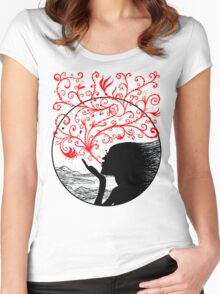 Breath of Beauty Women's Fitted Scoop T-Shirt