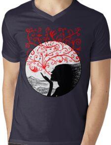 Breath of Beauty Mens V-Neck T-Shirt