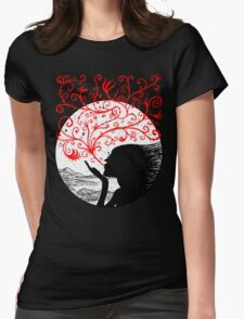 Breath of Beauty Womens Fitted T-Shirt