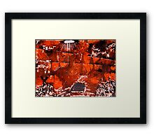 Alien Child's World Framed Print