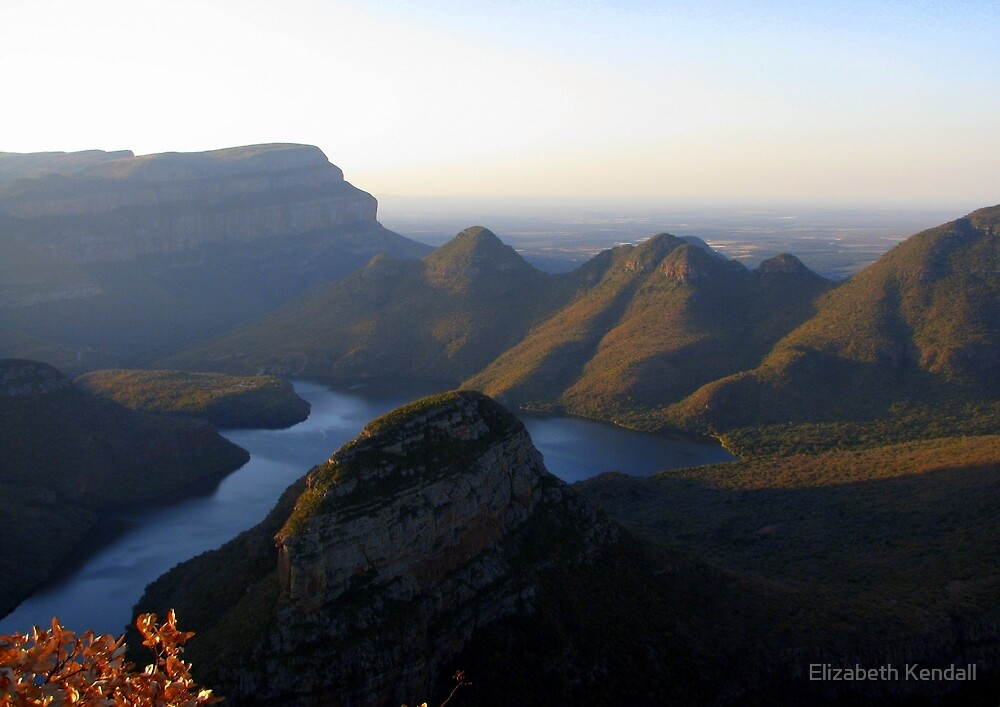 The Blyde River Canyon by Elizabeth Kendall