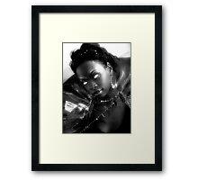 Dark Queen Framed Print