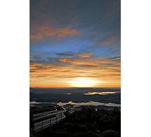 Volcanic Sunrise Photographic Print