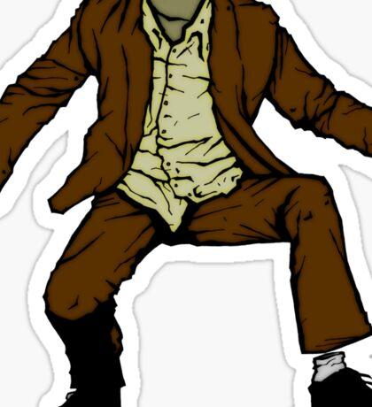 el hombre invisible Sticker