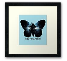 wake up and smell the chaos Framed Print