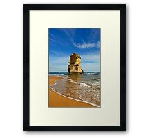 Ocean Rock View Framed Print