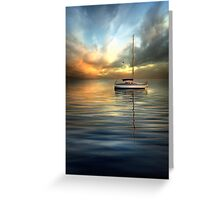 Dramatic Evening Greeting Card