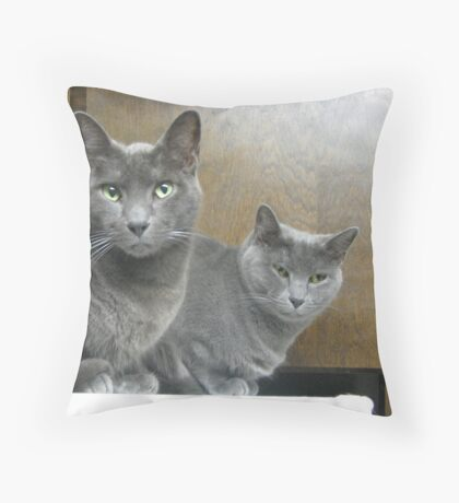The Wolves I Throw Pillow