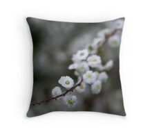 """""""Blossoms"""" Throw Pillow"""