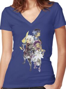 203rd Night: Fate -Conciousness- Women's Fitted V-Neck T-Shirt