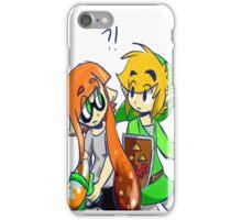 Splatoon & Zelda Crossover  iPhone Case/Skin