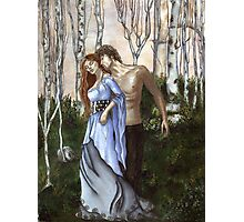 Lancelot and Gwenivere Photographic Print
