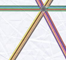 Color Band Kaleidoscope  by DoubleShadow