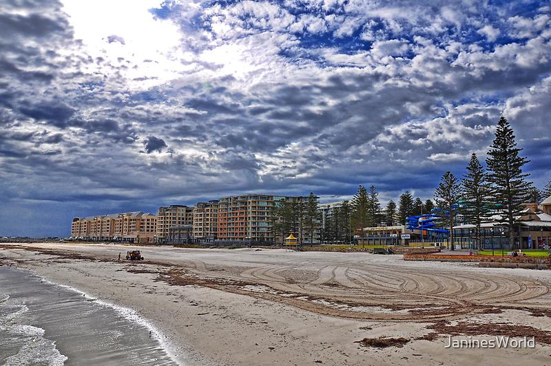 Glenelg Beach by JaninesWorld