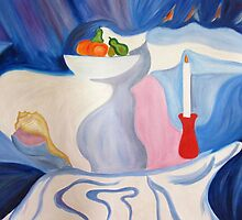 Still Life with candle. by Sesha