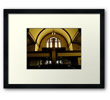 The Sanctuary. Framed Print