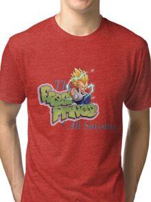 vegeta prince dbz Tri-blend T-Shirt