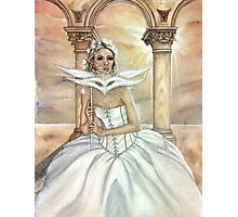 Masque of the Elven Woman Photographic Print