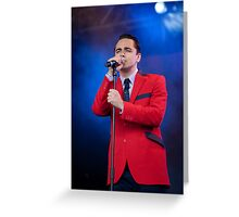 Ryan Molloy - Jersey Boys - Cast Playing At West End Live 2011 Greeting Card