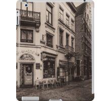 Rue Des Chapeliers - Brussels iPad Case/Skin