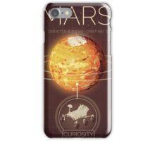 Planet Mars Infographic NASA iPhone Case/Skin