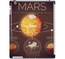 Planet Mars Infographic NASA iPad Case/Skin
