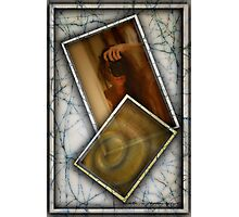 Framed Nude © Vicki Ferrari Photography Photographic Print